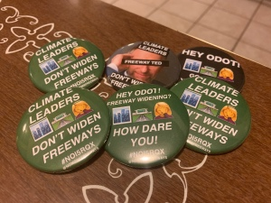 our buttons are great. donate and we'll mail you a few!